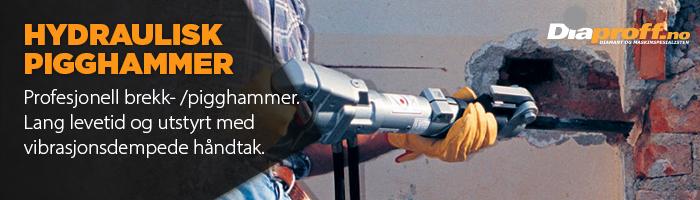 Hydraulisk brekkhammer pigghammer